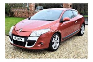 RENAULT MEGANE DYNAMIQUE TOMTOM DCI EDC 2011 FOR SALE