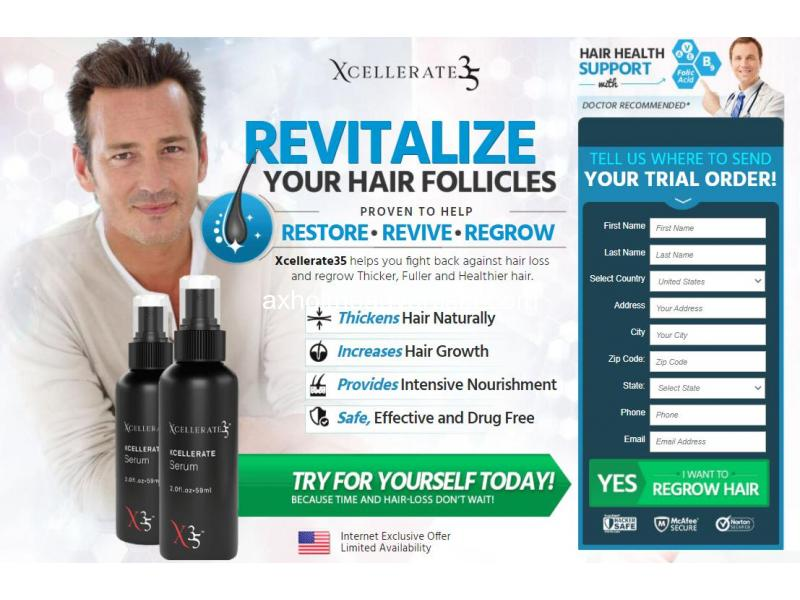 How Will Xcellerate 35 Hair Be In The Future.