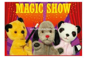 THE SOOTY SHOW at the Baths Hall Scunthorpe