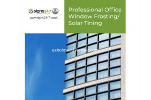 Professional Office Window Frosting/Solar Tinting