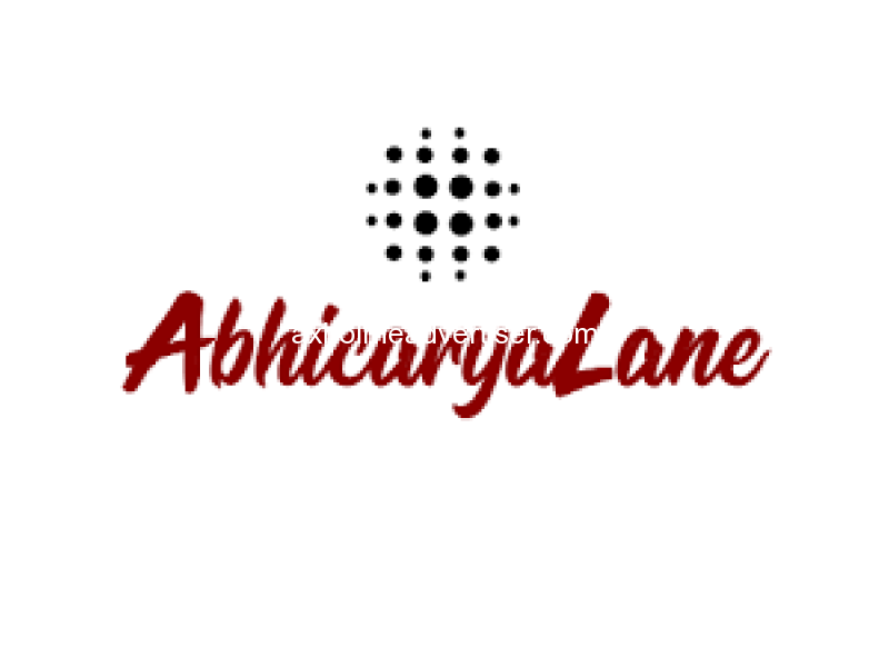 AbhicaryaLane : All available online | Into modern design !